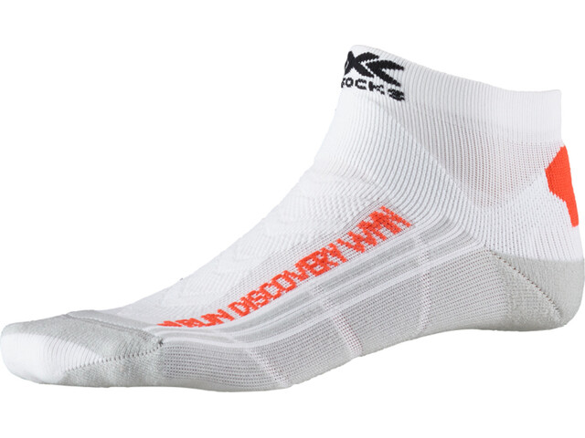 X-Socks Run Discovery Socks Damen arctic white/dolomite grey